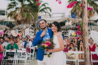 Mediterranean Summer Wedding Naxos island Greece