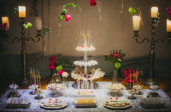 Mediterranean Summer Wedding Dessert bar