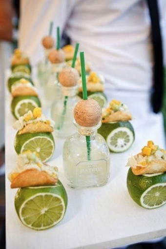 Creative Wedding food