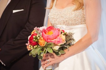 Colorful Stylish Summer Wedding bouquet