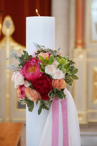 Colorful Stylish Summer Wedding flowers
