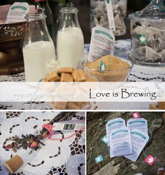 Love is Brewing Winter Wedding inspirational shoot