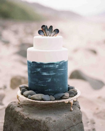 Beach Wedding Moody cake Koby Brown