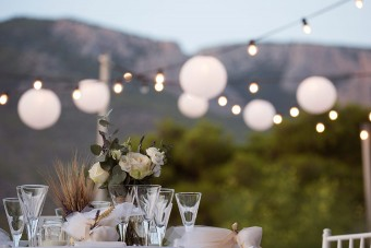 Lavender Wheat Fiesta Summer Wedding in Greece