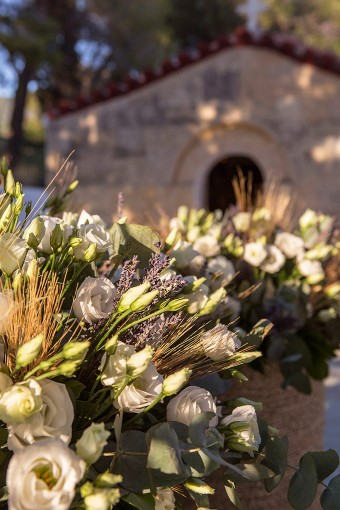 Lavender Wheat Wedding in Greece