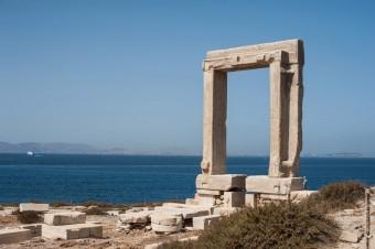Portara Naxos island Greece