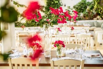 Mediterranean Pattern Wedding in Greece