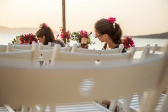 Mediterranean Pattern Wedding backstage