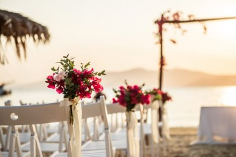Mediterranean Pattern Wedding in Greece
