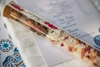Mediterranean sea salt Wedding Favor