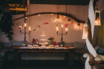 Mediterranean Summer Wedding Dessert bar