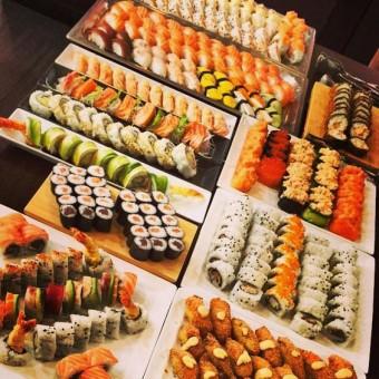 Creative Wedding food Sushi