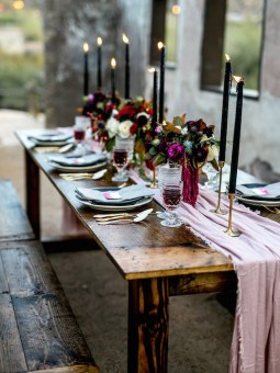 Moody Spring table settings