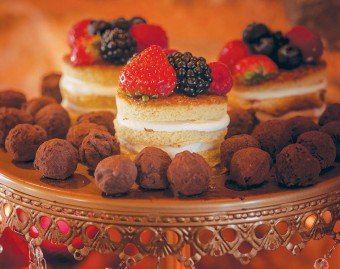 Mini naked cakes Winter Delight