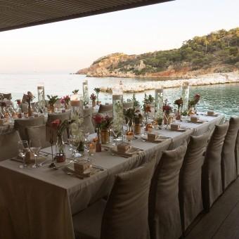 Colorful Stylish Summer Wedding venue decoration