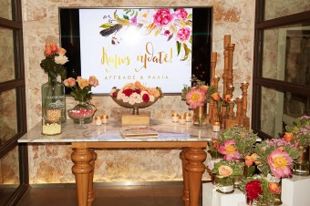 Colorful Stylish Summer Wedding guest book