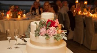 Colorful Stylish Summer Wedding cake