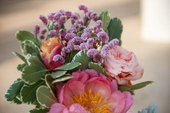 Colorful Stylish Summer Wedding flower decoration