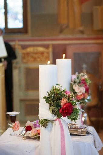 Colorful Stylish Summer Wedding ceremony