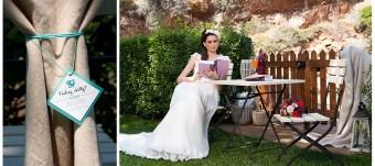 Jane Austen inspired bridal look
