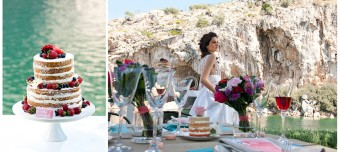 Lakeside Spring inspirational shoot Bridal look Flower Wreath