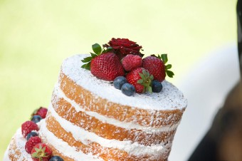 Naked cake fruit top