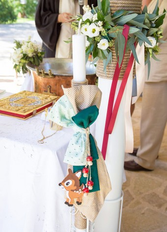 My forest friends Christening accessories