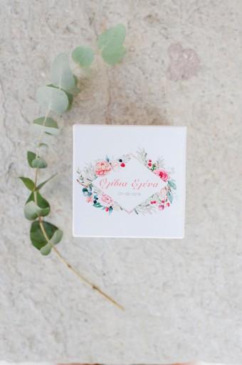 Olive garden Christening favor box